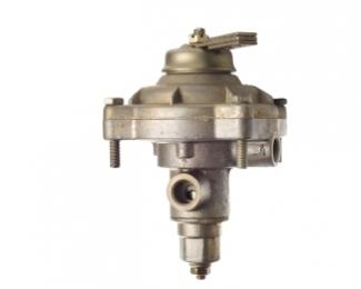 Клапан управления тормозами прицепа с однопроводным приводом (с ручкой)