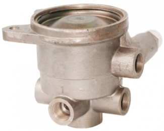 Воздухораспределитель тормозов прицепа для однопроводной тормозной системы с краном растормаживания