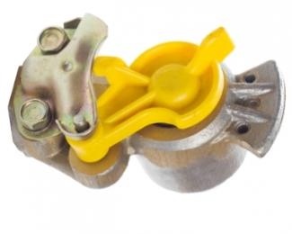 Головка соединительная с фильтром желтая